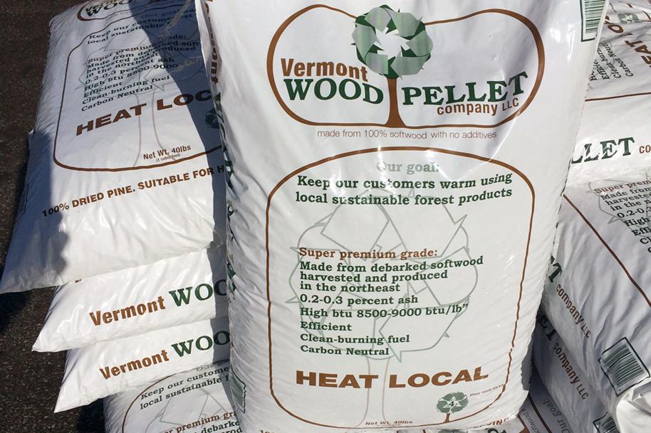 Vermont Wood Pellet Bag